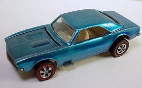 Vintage Hot Wheels Redline Custom Camaro