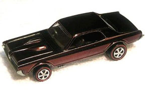 Vintage Hot Wheels Redline Custom Cougar