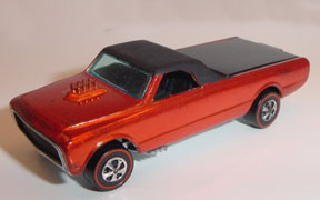 Vintage Hot Wheels Redline Custom Fleetside