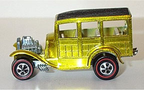 Vintage Hot Wheels Redline Classic '31 Ford Woody