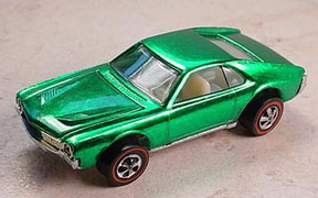 Vintage Hot Wheels Redline Custom AMX