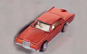 Vintage Hot Wheels Redline Custom Continental Mk III