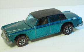 Vintage Hot Wheels Redline Rolls Royce Silver Shadow