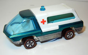Vintage Hot Wheels Redline Ambulance