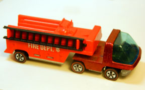 Vintage Hot Wheels Redline Fire Engine