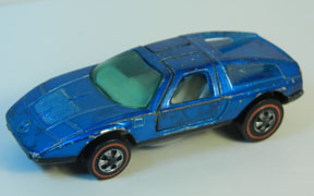 Vintage Hot Wheels Redline Mercedes Benz C111