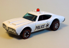 Vintage Hot Wheels Redline Police Cruiser