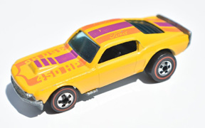 Vintage Hot Wheels Redline Mustang Stocker