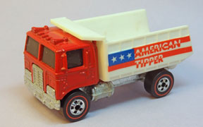 Vintage Hot Wheels Redline American Tipper