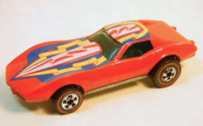 Vintage Hot Wheels Redline Corvette Stingray